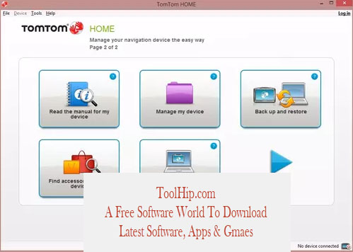 TomTom Home Download for Windows