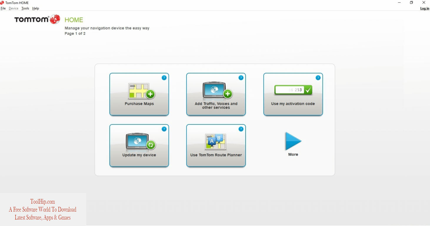 TomTom Home Free Download