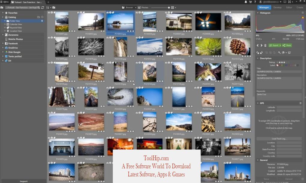 Zoner Photo Studio X Free