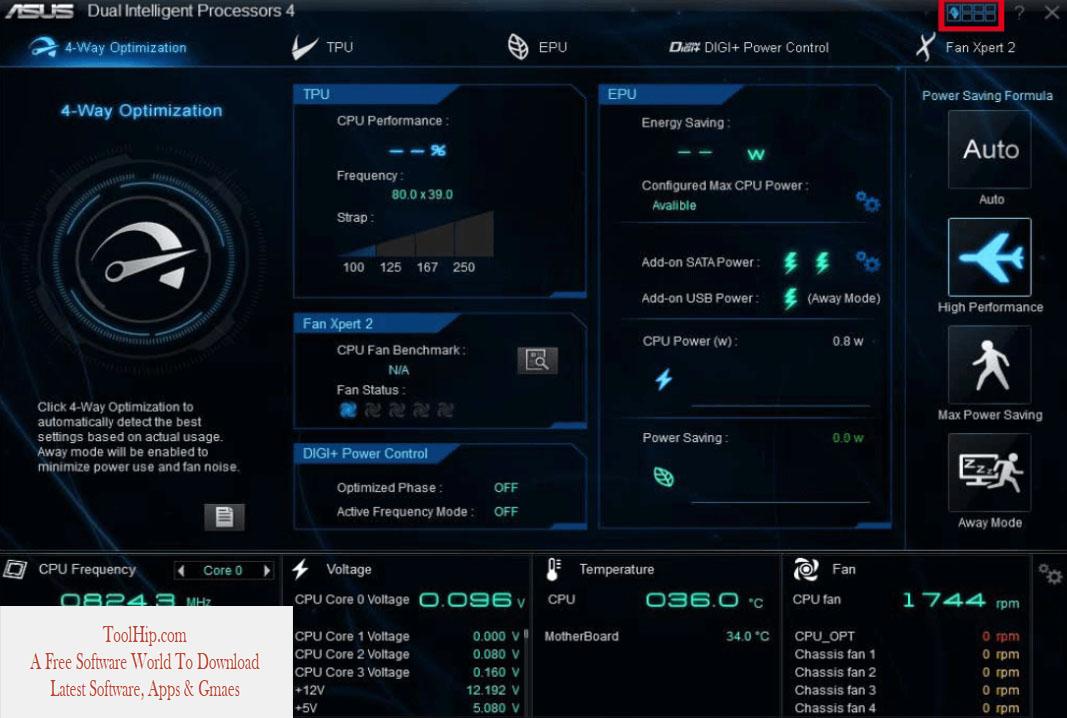 ASUS AI Suite II Download Free