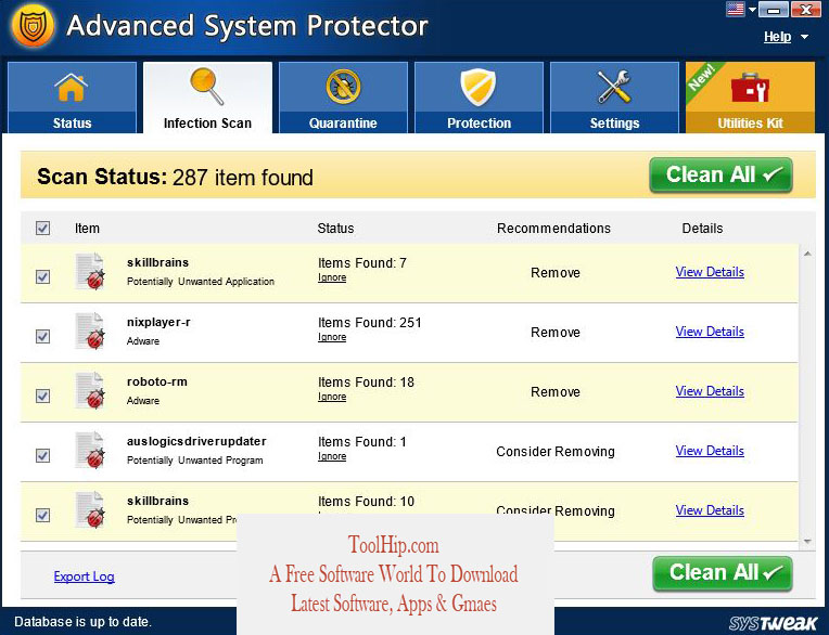 Advanced System Protector Download Free