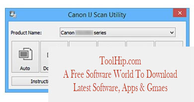 Canon IJ Scan Utility Download Free