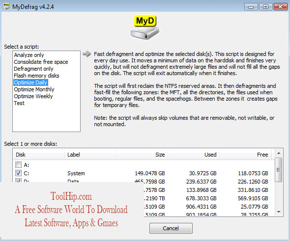 MyDefrag Free Download